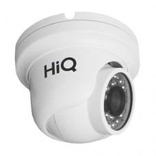 HiQ-5010 H антивандальная купольная IP камера и ИК подсветкой, 1 МП
