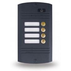 AVC-424D, видеопанель на 4 абонента, 4-х проводная