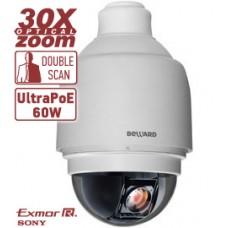 IP камера BD136P купольная скоростная 0.5-400°/сек, 0.01 лк (День)/0.003 лк (Ночь), 4 потока Н.264/M