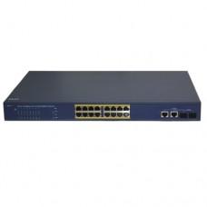 HiQ-PS1116 коммутатор 16 портов с POE