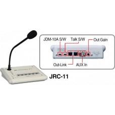 JRC-11, настольная микрофонная станция с селектором зон