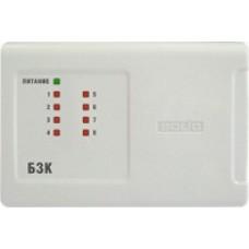 БЗК исп.01, блок защиты коммутационный с увеличенным током до 0,6А на каждый из 8-ми каналов