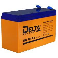 Аккумулятор 12В, 7 А/ч HRL повышенной энергоотдачи (DELTA)