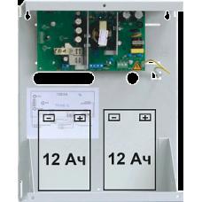 СКАТ 1200, ИП  5А, 12В под два аккумулятора 12 В 7(12) Ач или один аккумулятор 12 В 17 Ач
