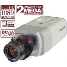 IP камера BD3370, 1/2.8`` КМОП SONY, 0.05 лк (День)/ 0.001 лк (Ночь), H.264//MJPEG, 1920х1080 25 к/с