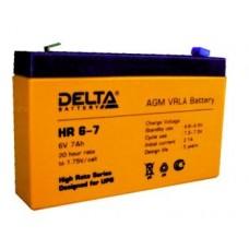 Аккумулятор 6В, 7 Ач DELTA