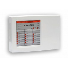 ВЭРС-ПК-16 П версия 3.2 Прибор, (пластмас. корпус) Контроль 16 шлейфов сигнализации