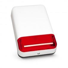 SPL-2010 R Светозвуковой оповещатель внешний (цвет красный), 12 В