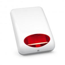 SPL-5010 R Светозвуковой оповещатель внешний (цвет красный), 12 В