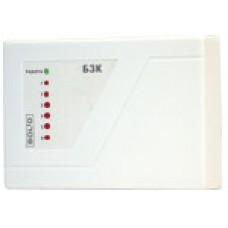 БЗК, Блок защитный коммутационный. Предназначен для распределения тока источника питания (снят)