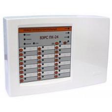 ВЭРС-ПК-24 П, верс. 3.2. Прибор, (пластмас. корпус) контроль 24 шлейфов сигнализации, под акк. 7А/ч