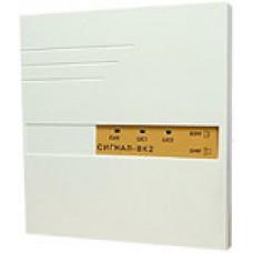 СИГНАЛ-ВК2,  Прибор приемно-контрольный 2 шлейфа ОПС, взятие/снятие ключом TM