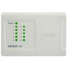 Сигнал-10, Контрольная панель