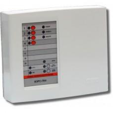 ВЭРС-ПК-4 П версия 3.2, Прибор, (пластмас. корпус) контроль 4 шлейфов сигнализации, под акк. 4,5А/ч