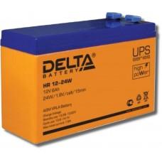 Аккумулятор 12В  Delta HR 12-24 W