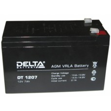 Аккумулятор 12В, 7А/ч DELTA