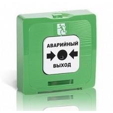 ИОПР 513/101-1 Кнопка аварийной разблокировки двери цвет корпуса зеленый