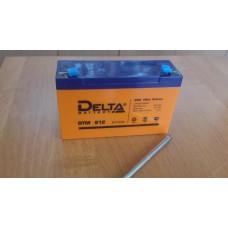 Аккумулятор 6В,12А/ч DTM