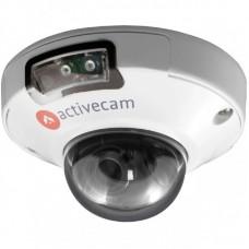 AC-D4101IR1 IP-камера, миниатюрная купольная вандалозащищенная 1МП ИК-подсв.(2,8)