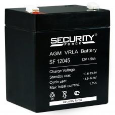 Аккумулятор 12В, 4.5 А/ч SF