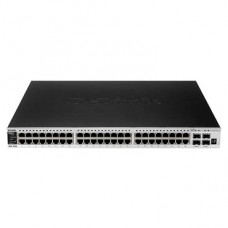 DGS-3420-52T/A 2A 48-ports 10/100/1000 base-T L2+ Stackable Management Switch with 4 ports SFP+