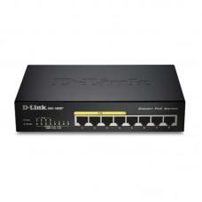 D-Link DGS-1008P/B1A L2 неуправляемый Gigabit с поддержкой PoE