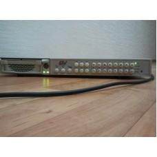 LTV-DVR-16A-TX, цифровой 16-и канальный видеорегистратор с аудиоканалом с мышью