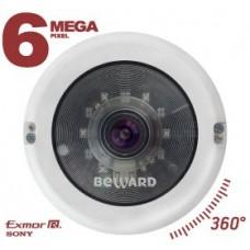 BD3670FL IP камера с углом обзора 360?, 6 MP